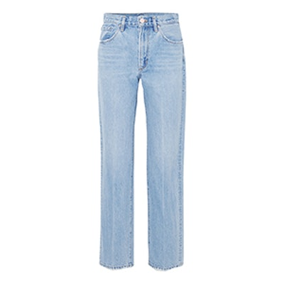 The Classic Fit High-Rise Straight-Leg Jeans