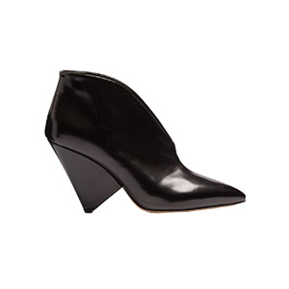 Adenn Leather Ankle Boots