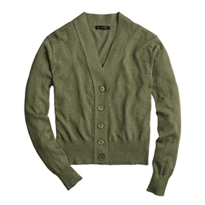 Cropped Lightweight Cardigan Sweater