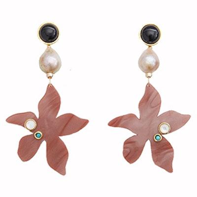 Portugal Poppy Earrings