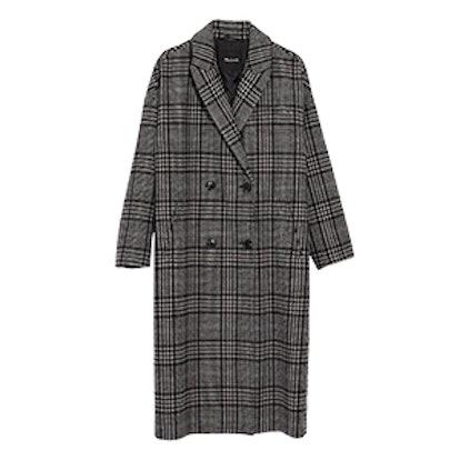 Plaid Goodwin Oversized Topcoat