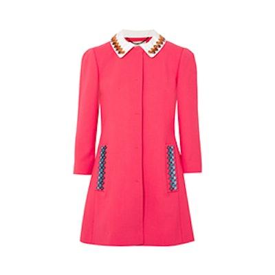 Mason Embellished Wool-Blend Coat