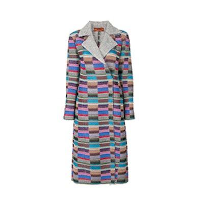 Colour Block Coat
