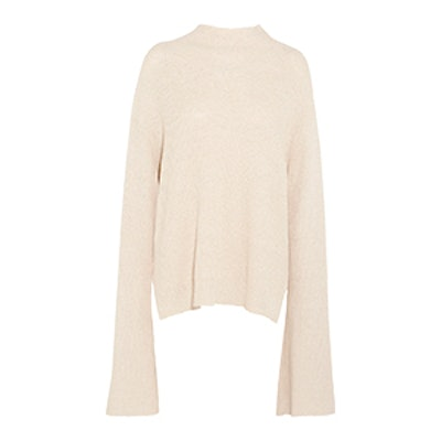 Gia Oversized Ribbed Cotton-Blend Sweater