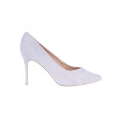 Lilac Sweetheart Pointed Court Shoes