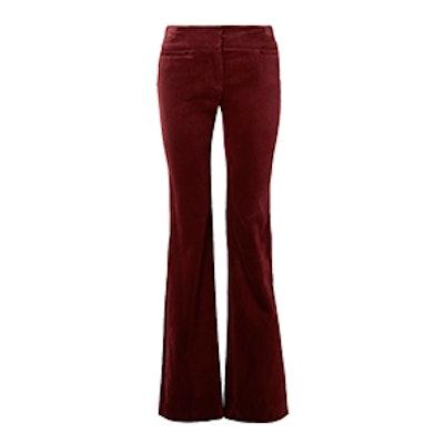 Amoire Velvet Flared Pants