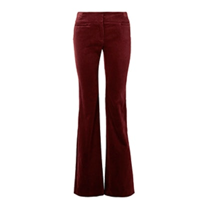 Amoire Velvet Flared Pants