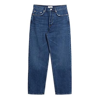 Loose Leg Denim Jeans