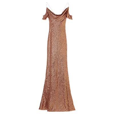 Cecilia Fluid Sequin Gown