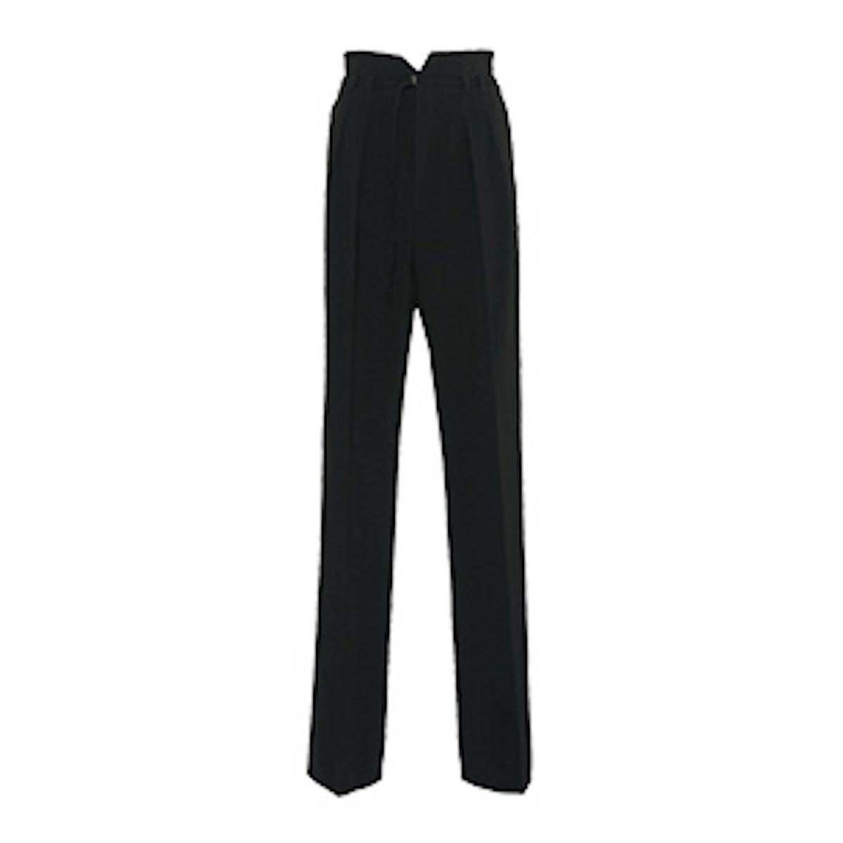 High Waist Belted Detail Trouser