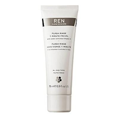 REN Flash Rinse One Minute Facial