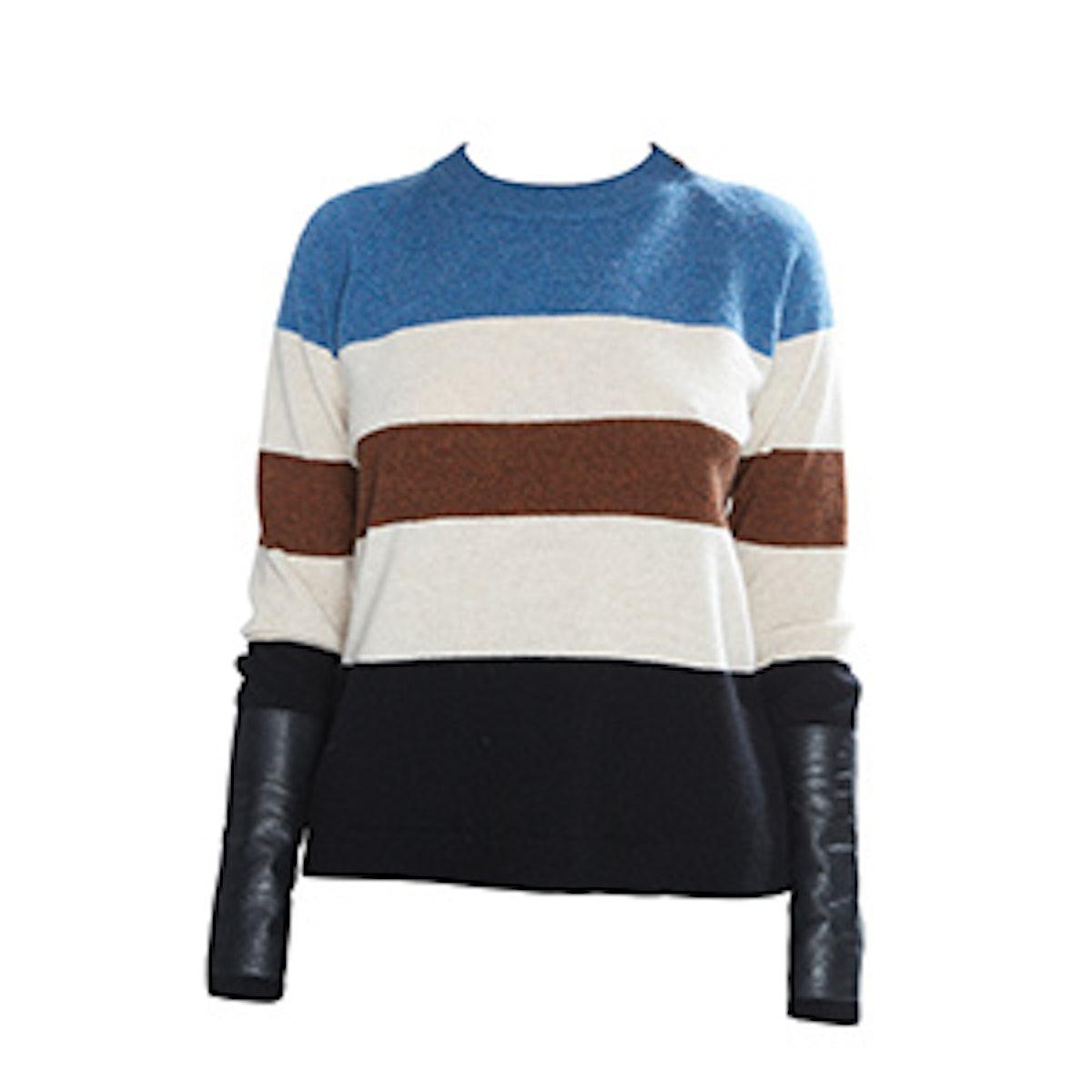 Gus Cashmere Sweater Stripe