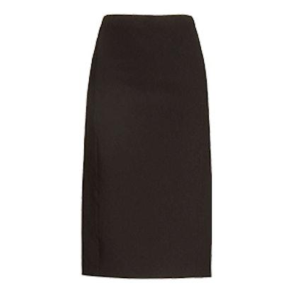 Stretch Pointe Pencil Skirt