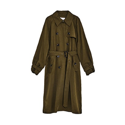 Loose-Fit Trench Coat