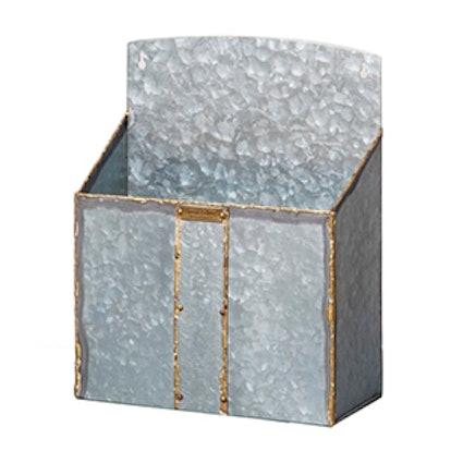 Zinc Galvanized Mailbox