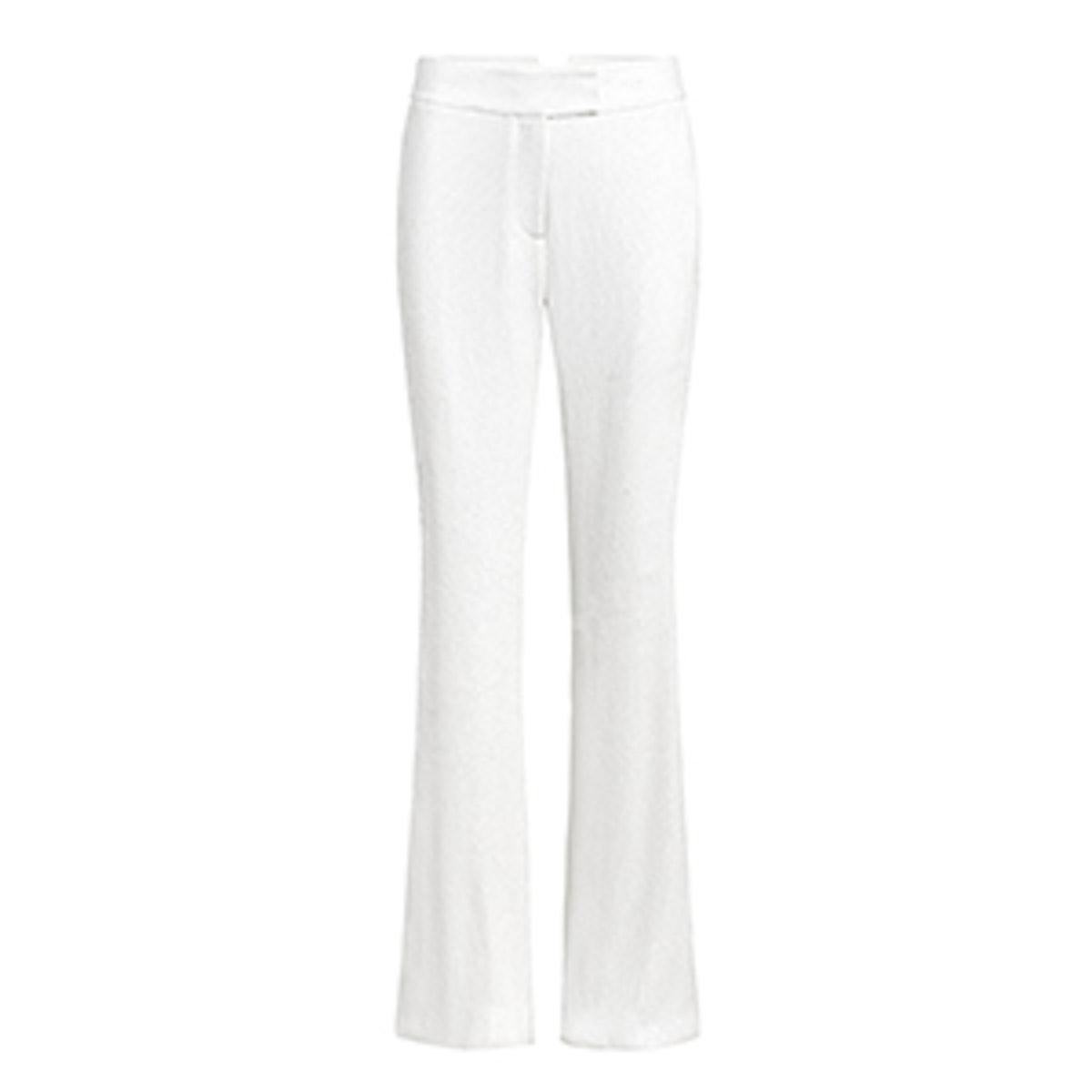 Linda Wide-Leg Fluid Sequin Pants