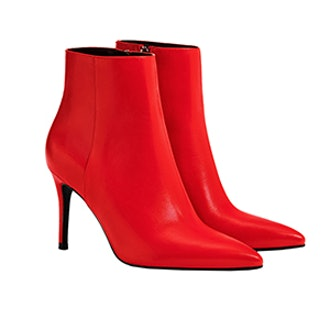 Stiletto Heel Ankle Boots With Pointed Toes