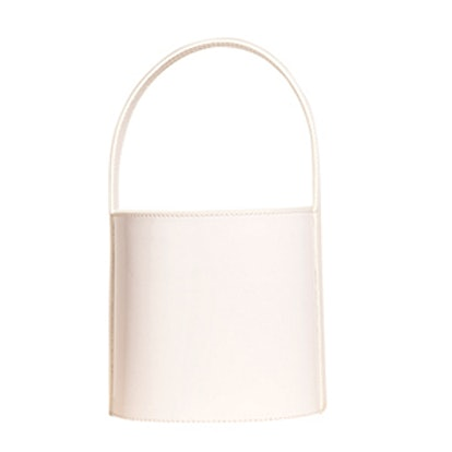 Bissett Bag in White Patent Leather