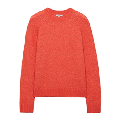 Knitted Raglan-Sleeve Jumper