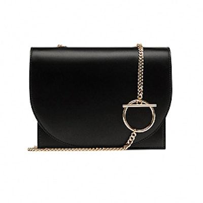 Crossbody Bag with Geometric Handle