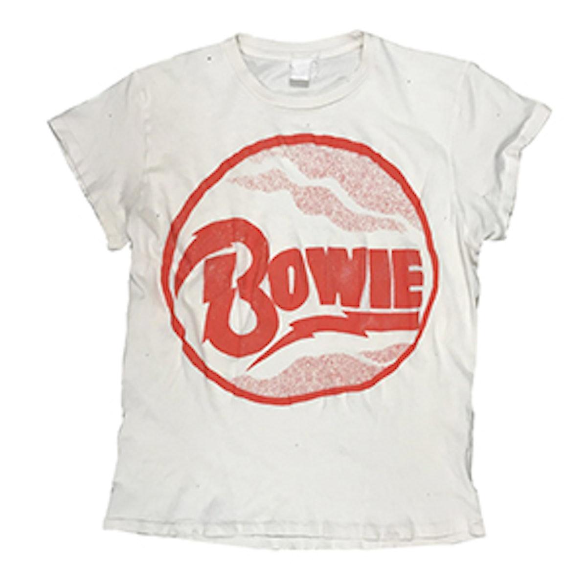 David Bowie Red Circle Logo Tee
