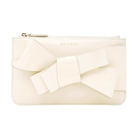Mini Calf Bow Clutch