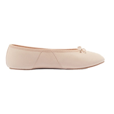 Bianca Leather Ballet Slippers