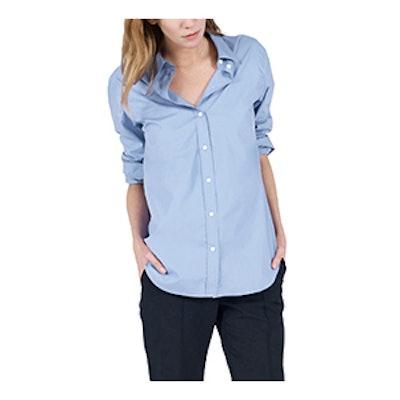 The Relaxed Poplin Shirt