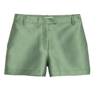 Jacquard-Patterned Short