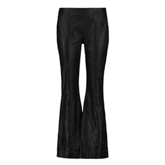 Leslie Leather Flared Pants