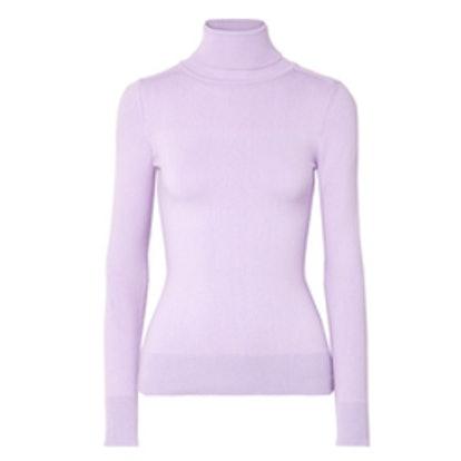 JoosTricot Stretch Cotton-Blend Turtleneck Sweater