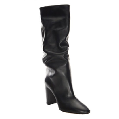 Gianvito Rossi Laura Leather Knee-High Boots