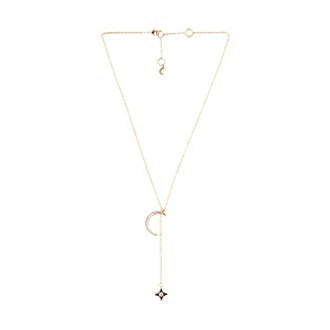 Rope The Moon Lariat In Gold