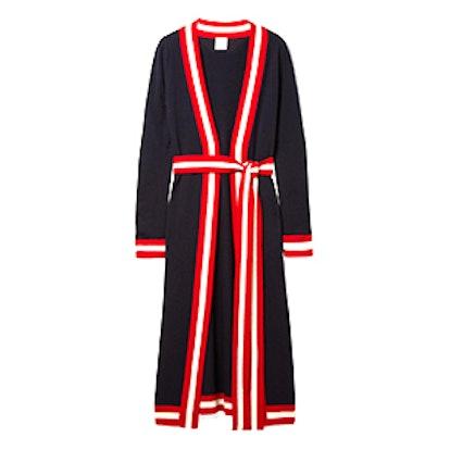 Ibis Striped Cashmere Cardigan
