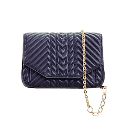 Quilted Leather Evening Bag