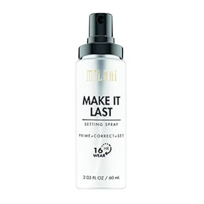 Milani Make It Last Setting Spray Prime + Correct + Set