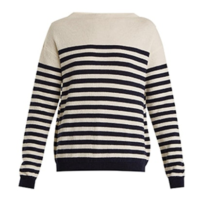 Margot Striped Wool Sweater