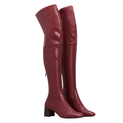 Over The Knee Heel Boots