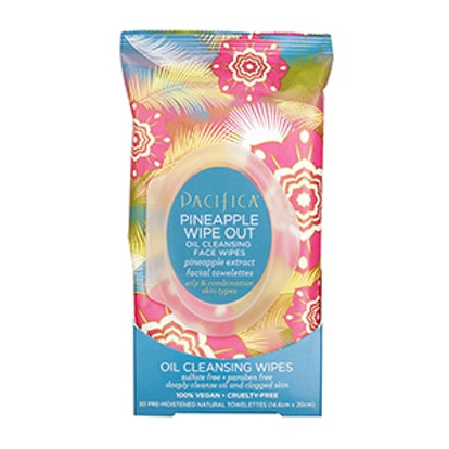 Pacifica Pineapple Wipeout Oil Cleansing Face Wipes