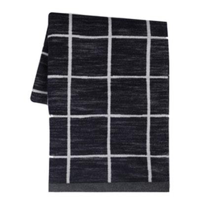 Graph Check Throw Blanket