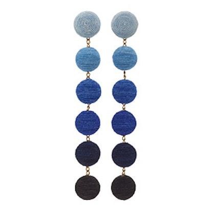 Six Drop Ombré Earrings