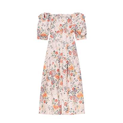 Off-The-Shoulder Marlena Floral Dress