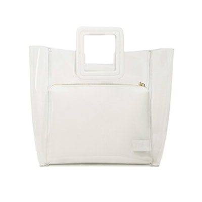 Shirley Bag in Clear/ White