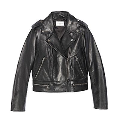 Short Leather Jacket