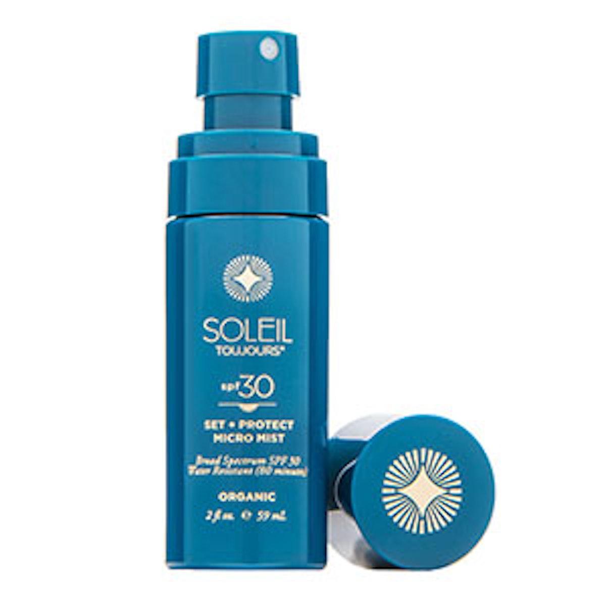 Organic Set + Protect Micro Mist SPF 30