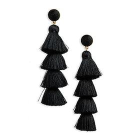 Gabriela Tassel Fringe Earrings