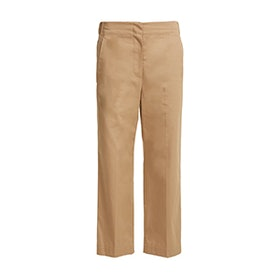 Elasticated-Back Cotton Chino Trousers