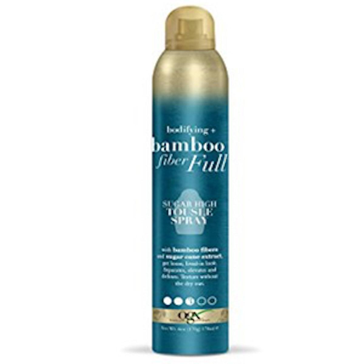 Bodifying + Bamboo Fiber Full Sugar High Tousle Spray