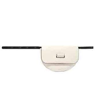 Anna Textured-Leather Belt Bag