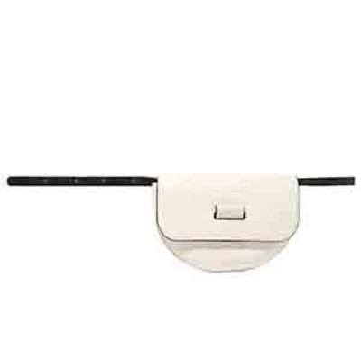 Anna Textured-Leather Belt Bag